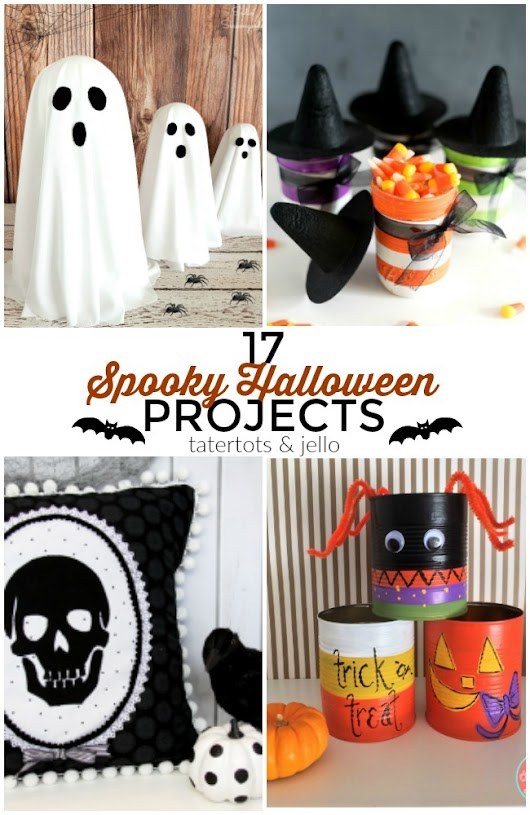Great Ideas -- 17 Spooky DIY Halloween Projects!