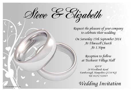civil wedding invitations wording templates   Google