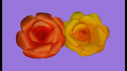 Flower making with paper google how to make rose crepe paper flowers paper flower tutorial flower making of crepe paper mightylinksfo