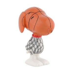 Dept 56 Peanuts Snoopy By Design Slam Dunk Dog 4038937 Nib Free