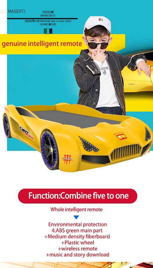 New Design King Full Size Racing Kids Children Dubai Sport Race Car Bed With Light - Buy Race Car Bed,Children Bed,King Full Size Kids Sport Car Bed With Light Product on Alibaba.com