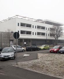 Il palazzo che ospitava i Memores Domini di Cl a Milano