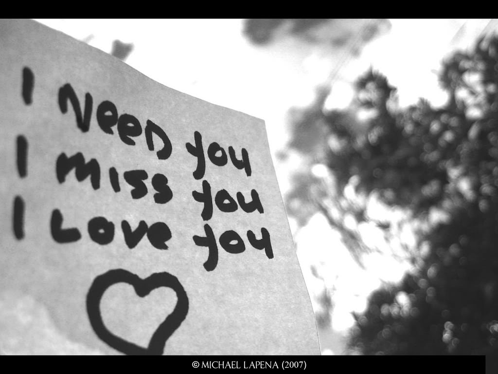 Love Images I Need Youi Miss Youi Love You3 Hd Wallpaper And