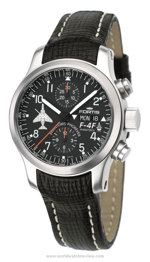 Fortis B42 Phantoms Phorever Flieger Chronograph | World Watch Review