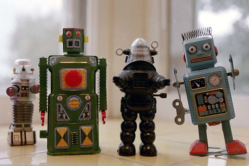 robot army by peyri, on Flickr