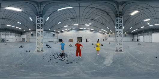 Cinemagraphs and Clones Create a 360° VR Music Video [Premiere] | The Creators Project