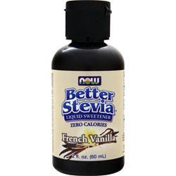 NOW Stevia Liquid Extract French Vanilla 2 fl.oz