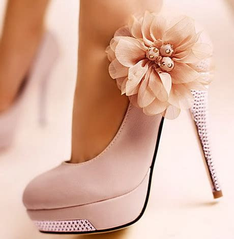 beautiful high heel shoes
