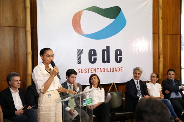 Marina Silva, ex-presidenciável, é afiliada à Rede. Foto: Ananda Borges/Câmara dos Deputados