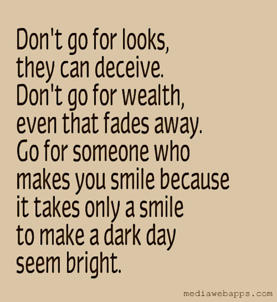 Someone Makes You Smile Quotes. QuotesGram