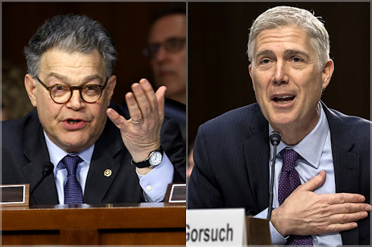 Al Franken's grilling of Gorsuch exposes the heartless cruelty behind conservative legal philosophy