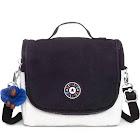 Kipling Kichirou Lunch Bag Black White Combo