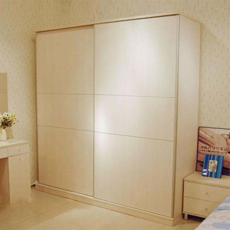 Furniture wardrobe sliding door wardrobe simple combination plate sliding door sliding door wardrobe closet Cheap two
