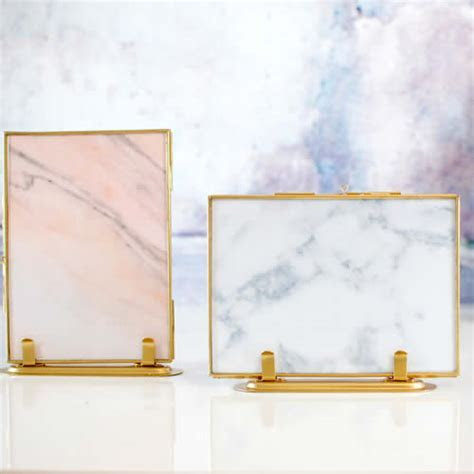 Gold Standing Scandi Photo Frame. The coolest picture