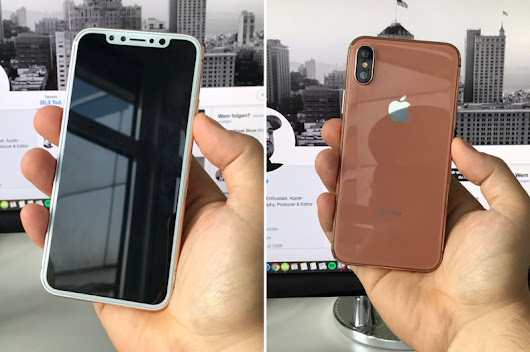 iPhone 8: Full Details, Photos, Coming September 12