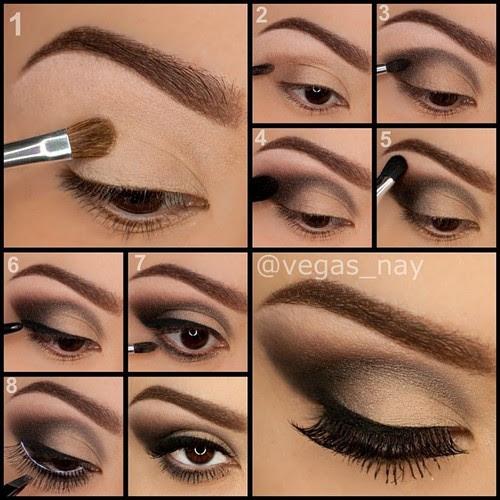 How to put on eye makeup makeup