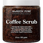 Arabica Coffee Exfoliating Body Scrub - All Natural Formula for Skin Care, Stretch Marks, Acne & Cellulite, Reduce the Look of Spider Veins