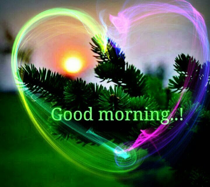 Beautiful Good Morning Heart Pictures Photos And Images For