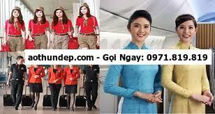 trang phục tiếp viên hàng không hàn quốc