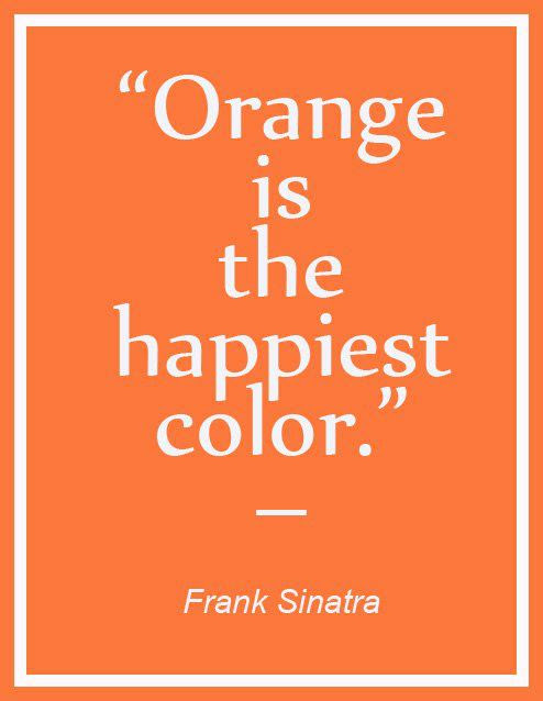 50+ Quotes About The Color Orange