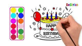 All Clip Of Cara Mewarnai Kue Ulang Tahun Untuk Bhclipcom