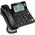 AT&T - 2940 Corded Phone with Caller ID/Call Waiting - Black