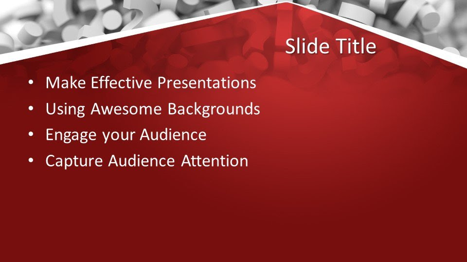 Free Questions Answers PowerPoint Template - Free ...