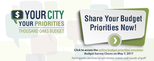 Thousand Oaks, CA : Your City, Your Priorities:  Community Engagement for the City of Thousand Oaks' Budget