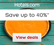 Hotels.com Thanksgiving Sale