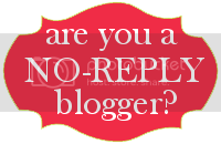 No Reply Blogger