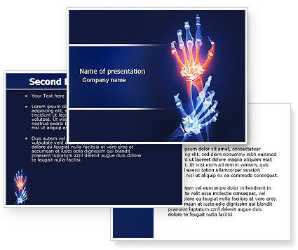 Azmul hussain google arthritis powerpoint template poweredtemplate 04273 3 backgrounds 3 masters toneelgroepblik Image collections