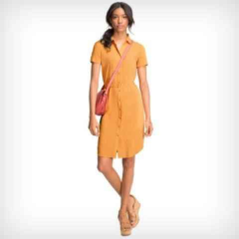 Women's Signature Short-Sleeve Shirtdress