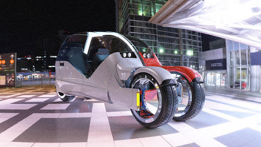 This Awesome Concept Car Splits Into Two Motorcycles
