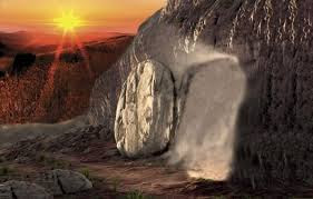 tomb at sunrise
