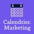 #CM   – un calendrier pour suivre les temps forts de l'année, un outil utile pour planifier ces campagnes et trouver des idées de contenu,