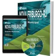Apostila Prefeitura de Nova Friburgo guarda Municipal (Impresso).