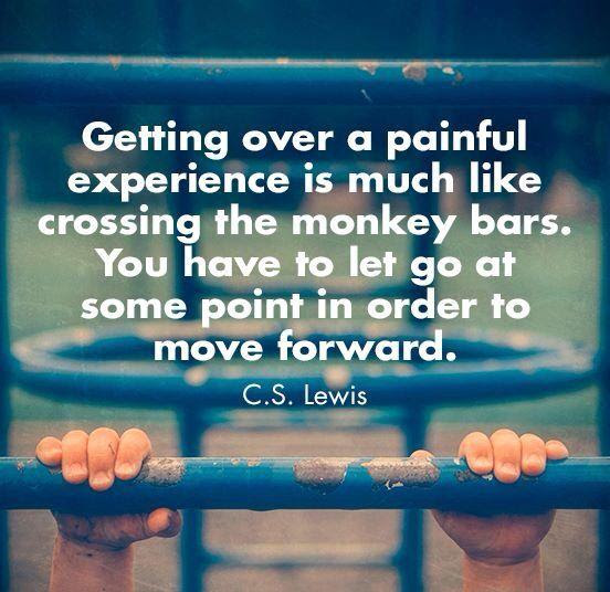 Getting Over A Painful Experience Is Much Like Quotesberry