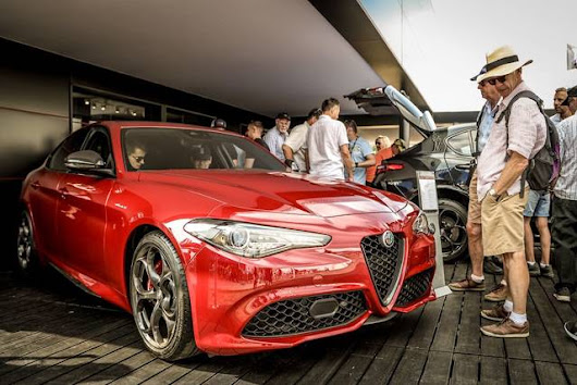 L'Alfa Romeo al Festival of Speed 2018: la gallery