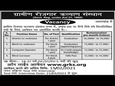 GRKS recruitment for Telangana 2021