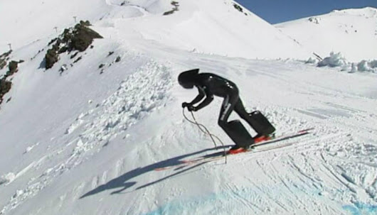 Kiwi aiming to become fastest skier in the world