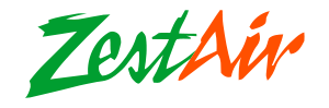 English: Zest Air logo