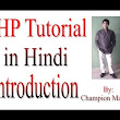 Learn PHP Tutorial in Hindi  - YouTube