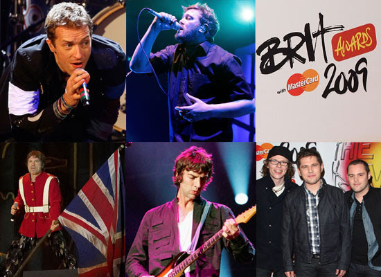 2009 Brit Awards — Best British Live Act Nominees ...