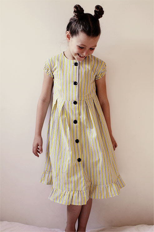Yellow Stripes Dress #2