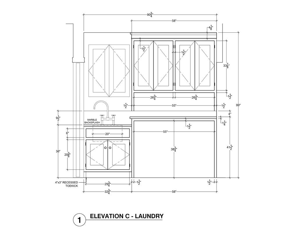 Kitchen Elevation Ideas Architectural 3D Rendering