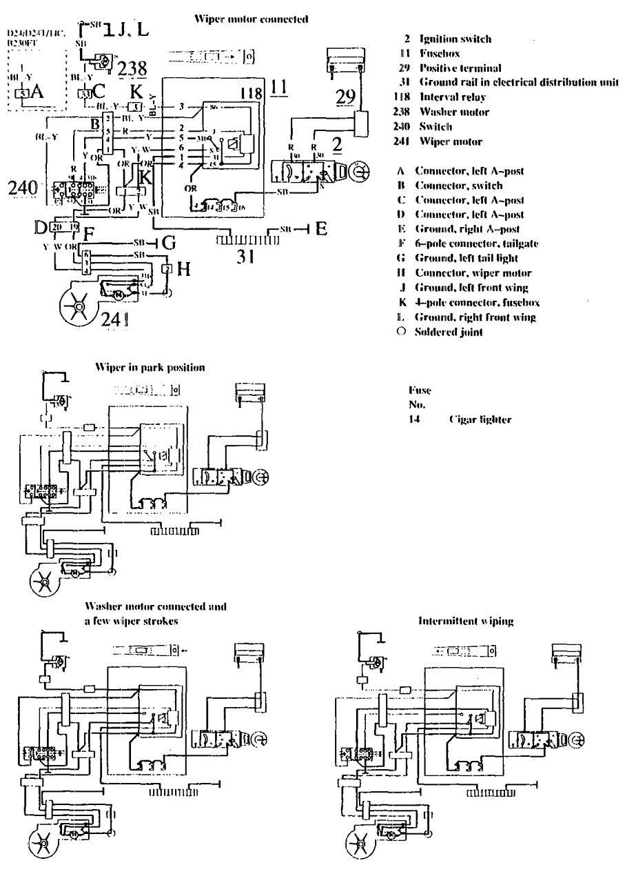 1990 Volvo 740 Wiring Diagram