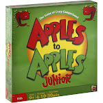 Mattel - APPLES TO APPLES Junior - The Game of Crazy Comparisons! - card game