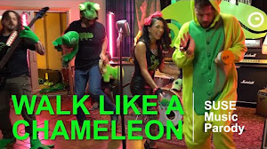 Walk Like A Chameleon - SUSE Music Parody