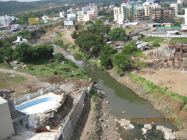 RamNadi at Bavdhan from Pinnacle Brook Side at Bavdhan Pune
