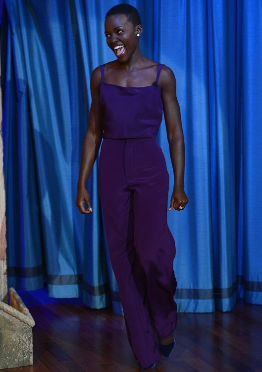 Lupita Nyong'o Appearing on Late Night with Jimmy Fallon